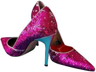 Jean-Michel Cazabat Jean Michel Cazabat Metallic Glitter Heels