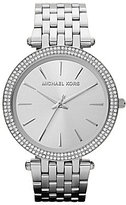 Michael Kors Darci Sterling Silver Analog Watch