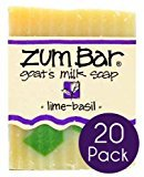 Indigo Wild Lime BasilZum Bars Multipack (20 Count)by