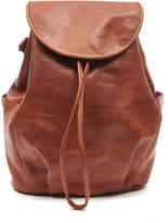 Tan Leather Rucksack - ShopStyle UK