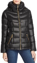 Calvin Klein Short Hooded Down Coat