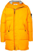 Stone Island hooded padded coat
