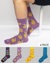 Happy Socks Gift Set 4 Pack Socks