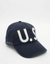 Tommy Hilfiger Thdm Logo Baseball Cap In Navy