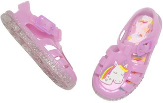 M&Co Unicorn jelly shoes