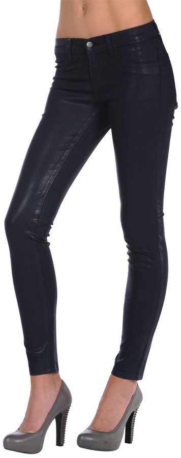 J Brand 901 Coated Legging Jean in Glory