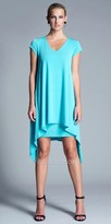 Julian Chang Irina V-Neck Shift Dress