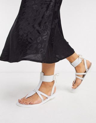Free People vacation day wrap sandals