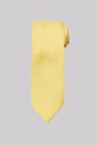 Moss Esq. Gold Mini Geo Silk Tie