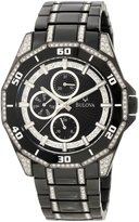 Bulova Men's Crystal Multifunction Watch 98C111