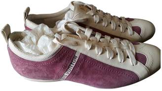 Louis Vuitton Purple Leather Trainers