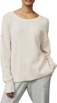 The White Company Exposed Seam Sweater