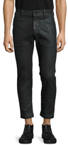 Diesel Chi-Shaplow-Un Coated Cropped Jeans