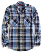Tommy Hilfiger Runway Of Dreams Blue Plaid Shirt