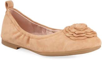 Taryn Rose Rosalyn Suede Ballet Flats