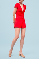 Goldie Edgy Red Playsuit