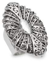 Lois Hill Cutout Sterling Silver Ring