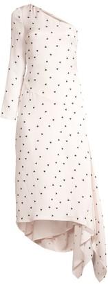 Mestiza New York Cosima One-Shoulder Midi Dress