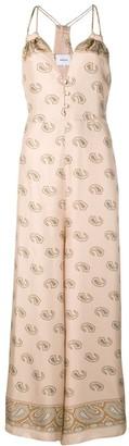 Nanushka Paisley Print Maxi Dress