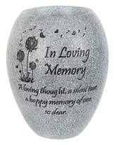 Fashion World In Loving Memory Memorial Vase