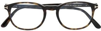 Tom Ford TF5680B square-frame optical glasses