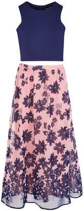 Sequin Hearts Big Girls 2-Pc. Floral-Print Dress Set