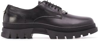 Neil Barrett metal applique Oxford shoes