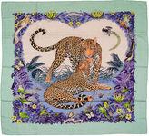 One Kings Lane Vintage Hermès Cashmere Jungle Love Shawl Dallet