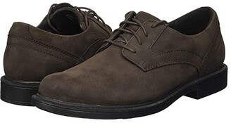 Dunham Jericho Oxford (Smoke Nubuck) Men's Lace Up Wing Tip Shoes