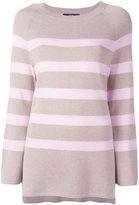 Steffen Schraut striped jumper - women - Viscose/Polyamide/Polyester/Cashmere - 34