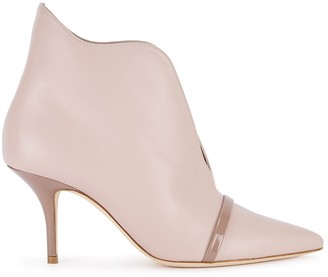 Malone Souliers Cora 70 blush leather ankle boots