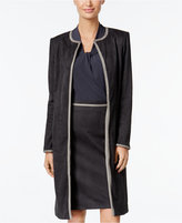Calvin Klein Faux-Suede Topper Jacket