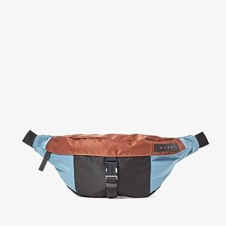 Marni Combo Waist Bag (Lake/Rust/Black) Handbags