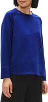 Eileen Fisher Crewneck Long Sleeve Knit Top