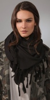 Hand Knotted Tassel Scarf