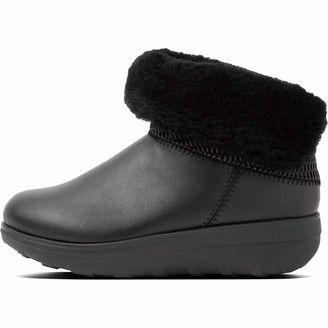FitFlop Women's Cm7-090 Mukluk Textured Shorty Ankle Boots