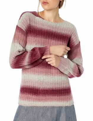 Kensie Women's Ombre Fuzzy Knit Sweater