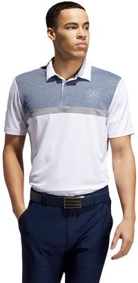 adidas Men's Colorblock Novelty Golf Polo