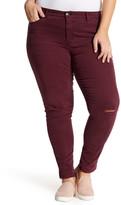Nine West Jeans Gramercy Long Skinny Jeans (Plus Size)