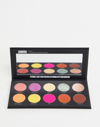 Uoma Beauty Black Magic Carnival Eyeshadow Palette