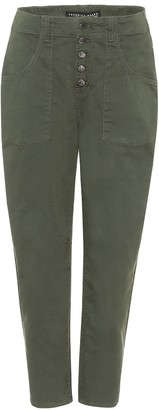 Veronica Beard Arya cropped cargo pants