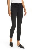 Frame Le High Stagger Hem Ankle Skinny Jeans