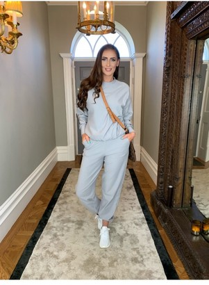Rene K Couture Carrie' Light Grey Sweat Pants