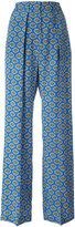 MSGM print palazzo pants - women - Silk/Polyester - 38
