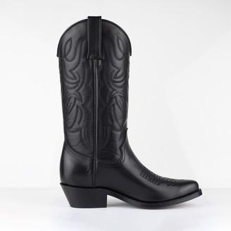 Tony Mora - Western Boot - Black - 36 | black | leather - Black/Black