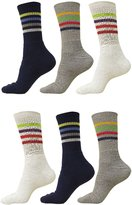 Loki Men's Fashionable Blend Cotton Sport Sock Mid-Calf Length Socks Size 9-12