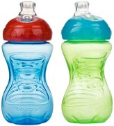 Nuby New Style Gripper Cup - Assorted Colors/Styles - 10 oz - 2 ct
