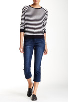 Seven7 Embellished Pocket Cropped Jean