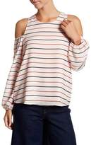 Lucca Couture Michelle Cold Shoulder Top