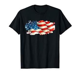Patriotic American Flag T Shirt